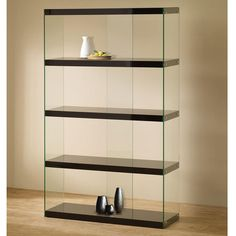 With four wide storage and display shelves, the Illusion Bookcase is perfect for housing a collection of books or magazines as well as showing off your most treasured knick-knacks. $299.00