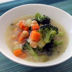 Vegetable-Miso Soup with Chickpeas Recipe