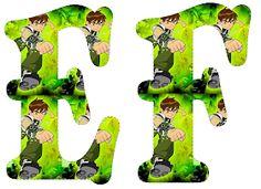 EUGENIA - KATIA ARTES - BLOG DE LETRAS PERSONALIZADAS E ALGUMAS COISINHAS: Alfabeto Ben 10 Ben 10 Cake, Beetlejuice Wedding, Call Of Duty Cakes, Ben 10 Party, Ben 10 Birthday, Alice In Wonderland Party, Holidays And Events, Birthday Decorations, Minnie Mouse