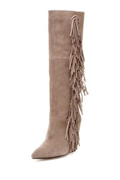 Tall fringe boot oh my god I love these boots where can I get some, have to make them in Bali