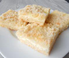 Drobená buchta stvarohem Krispie Treats, Rice Krispies, Feta, Cheese, Desserts, Recipes, Tailgate Desserts, Deserts, Postres