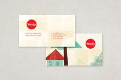 Elegant vintage business card template graphic inspiration daycare center business card template this business card is fitting for a daycare center the cut and paste appearance of the business card gives it an reheart Choice Image