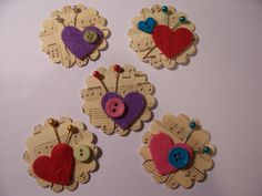 More of my handmade embellishments