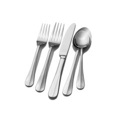 Pfaltzgraff Everyday Simplicity 53-Piece Stainless Steel Flatware Set, Service for 8. For product & price info go to:  https://all4hiking.com/products/pfaltzgraff-everyday-simplicity-53-piece-stainless-steel-flatware-set-service-for-8/