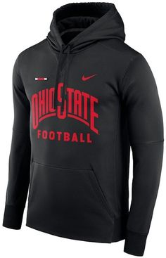 b30f00a07 Nike Men s Ohio State Buckeyes Therma-FIT Hoodie Nike Ohio State