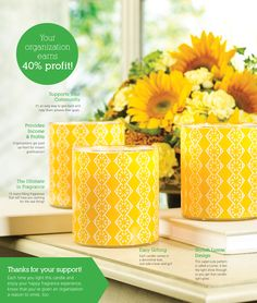 A Gold Canyon Fundraiser raises money for your organization. | Gold Canyon – Scented candles, holders, fragrance & décor.