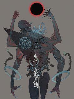 ArtStation - False God : The Moon Maze, Ching Yeh