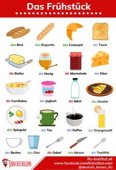 Study German, Learn German, German Grammar, German Words, Akkusativ Deutsch, Dativ Deutsch, German Language Learning, English Vocabulary, Unique Recipes