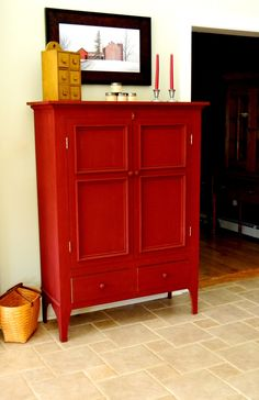 barn board media cabinet | ... ware. The Barn Red one is in my home and is used to store board games