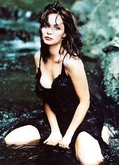"""Emmanuelle Béart whom I discovered through """"Un Coeur en Hiver""""... A perfect example of French beauty!"""