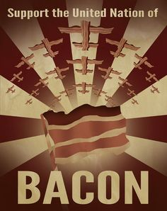 Funny pictures about Bacon nation. Oh, and cool pics about Bacon nation. Also, Bacon nation. United States Of Bacon, Bacon Nation, Bacon Funny, Bacon Memes, Man Food, Bacon Recipes, Geek Stuff, Social Media, My Favorite Things