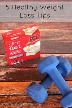 5 Healthy Weight Loss Tips - #14daystoslim #pmedia #ad {i love} my disorganized life