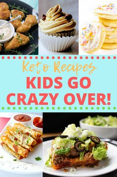 One of the hardest parts about the keto diet when you have kids is finding meals that everyone will be happy with. Luckily, I've found some great keto recipes for kids so you don't have to search too far! Keen for Keto Low Carb Keto, Low Carb Recipes, Diet Recipes, Healthy Recipes, Healthy Kid Friendly Recipes, Cooking Recipes, Kid Friendly Dinner, Kid Friendly Meals, Child Friendly