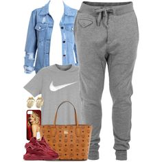 Untitled #1518 by power-beauty on Polyvore featuring polyvore, moda, style, Diesel, NIKE, MCM, fashion and clothing