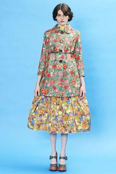 NO. marc jacobs floral print dress resort 2013
