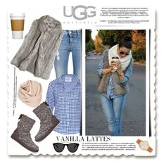 """""""Boot Remix :UGG Australia"""" by emcf3548 ❤ liked on Polyvore featuring STELLA McCARTNEY, Frank & Eileen, Calypso St. Barth, Kate Spade, Smoke & Mirrors and UGG Australia"""