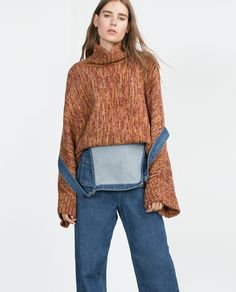Image 5 of KNITTED SWEATER from Zara
