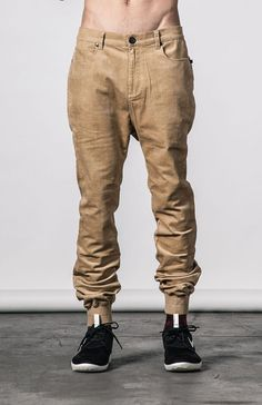 Thing Thing Station Pant in dune cord available for purchase at Needles & Threads Premium Streetwear Store