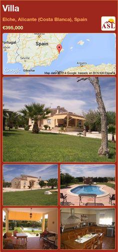 Villa in Elche, Alicante (Costa Blanca), Spain ►€395,000 #PropertyForSaleInSpain