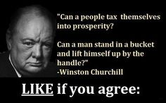 Taxes are not the answer