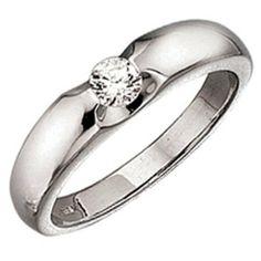 Damen-Ring 1 Diamant-Brillant 14 Karat (585) Weißgold 0.25 ct. 60 (19.1) Dreambase, http://www.amazon.de/dp/B00AWALDW2/ref=cm_sw_r_pi_dp_eBljtb0HJV6Y1