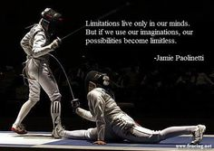 Women's foil showing flexibility on the piste. (Photo by fencingphotos.com)