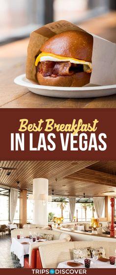 11 Best Breakfast Spots in Las Vegas - Travel and Restaurants Las Vegas Strip Restaurants, Best Restaurants In La, Breakfast Restaurants, Best Food In Vegas, Best Food In La, Las Vegas Eats, Las Vegas Food, Good Breakfast Places, Best Breakfast