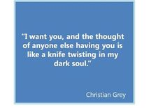 #FiftyShades of Grey - @E_L_James @50ShadesSource www.facebook.com/FiftyShadesSource