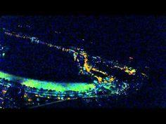 Fokker 100 approach at night - SDU