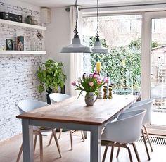 Beautiful light dining area