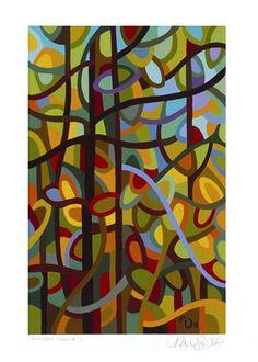 "Daily Paintworks - ""Landscape Study #13"" - Original Fine Art for Sale - © Mandy Budan"