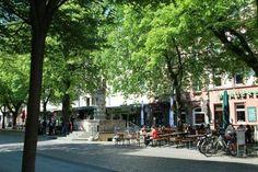 Werderplatz, Karlsruhe Meine erste eigene Wohnung, ich hab da so gerne gewohnt, es war ein urgeile Zeit.