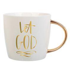 """""""Let God"""" Ceramic Mug"""
