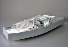 Model. Finalist Proposal for Guggenheim Helsinki, Finland, 2015 by SMAR