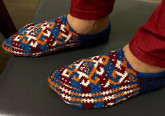 Hey, I found this really awesome Etsy listing at https://www.etsy.com/ru/listing/256984353/hand-knitted-slippers-socks-home-shoes