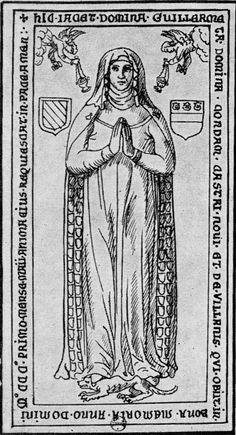 Guillemette de Chateauneuf (1301)