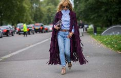 The Latest Street Style Photos From London Fashion Week via @WhoWhatWearUK