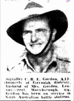 Signaller C R E Gordon AIF http://nla.gov.au/nla.news-article151306776