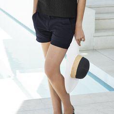 Chino Shorts - Navy from The White Company