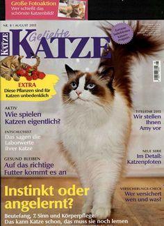 Instinkt oder angelernt? Gefunden in: Geliebte Katze, Nr. 8/2015