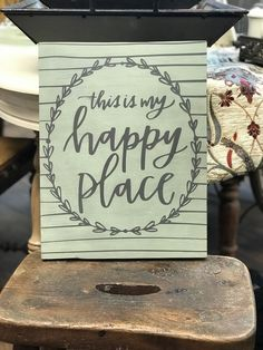 Come visit us at Vintage Decor & Craftery to purchase Annie Sloan Chalk Paint and learn how to use it! We offer DIY workshops and one-on-one instruction. Diy Workshop, Annie Sloan Chalk Paint, My Happy Place, Vintage Decor, Learning, Places, Painting, Design, Studying
