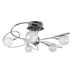 main kitchen light. Magneto 5 Light Ceiling Fitting | Dunelm