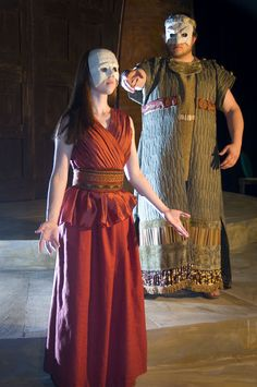 greek play costume ideas for kids Medea Play, Head Clothing, Clothing Ideas, Greek Plays, Ancient Greek Theatre, Roman Theatre, Festival Costumes, High Art, Stage Design