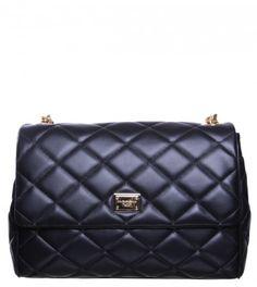 Dolce & Gabbana Black Quilted Leather Handbag