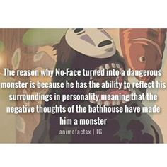 Character : No-Face Anime : Spirited Away