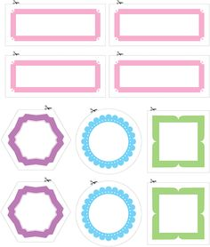Downloadable labels: Stay stylishly organized with these free, printable Style at Home designed labels
