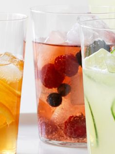 Sparkling summer #drinks for Memorial Day weekend. #food