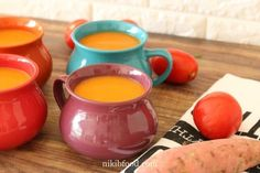 The Ultimate Sweet Potato Soup - A real hit with the readers, add this easy and addictive sweet potato soup to your rotation. Half And Half Cream, Sweet Potato Soup, Cooking For One, Lentil Soup, Tomato Paste, Lentils, Spices, Potatoes, Stuffed Peppers