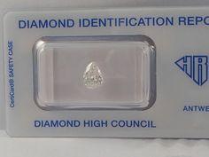 Catawiki Online-Auktionshaus: Diamant 1,01 ct. G/VS2