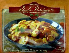 Whats Good at Trader Joes?: Trader Joes Garlic Potatoes with Parmesan Sauce